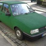 Grünes Auto, Tübingen-Style