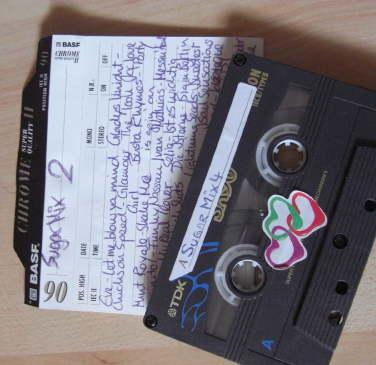 analoge Mixtape aus dem letzten Jahrtausend