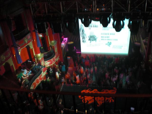Club Koko von oben