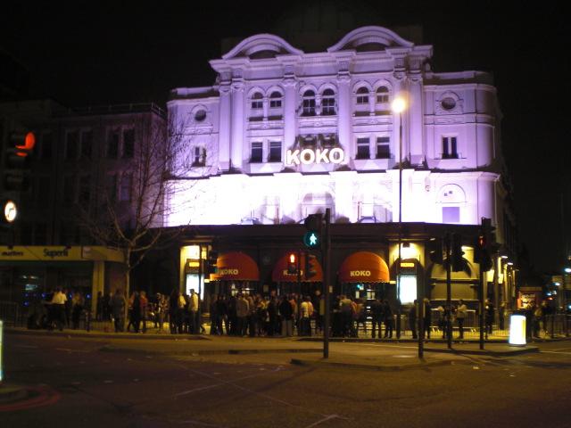 Club Koko Außen