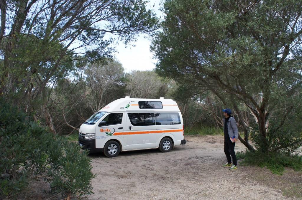 Britz camper relocation Australia