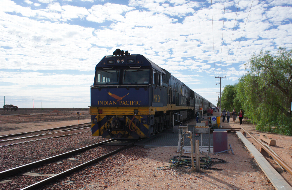 Indian Pacific train Australia