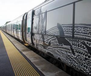 queenslandRail tilt train
