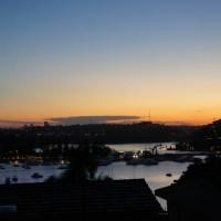 Sunset near teh Spit Bridge