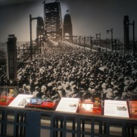 The opening of the Harbour Bridge - in the Pylon exhibition
