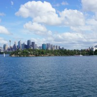 City Skyline from Taronga Zoo Ferry