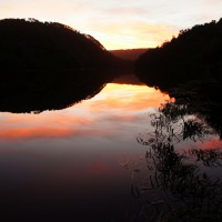 Sunset at Corinna