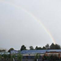 Rainbow over Taralleah