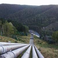 Hydro pipes at Taralleah
