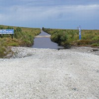 Side road off the Western Explorer Highway - snorkel recommended