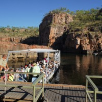 First visit: Nitmiluk Gorge cruise