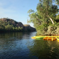 Kayaks for rent at Nitmiluk Gorge