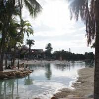 Brisbane city lagoon
