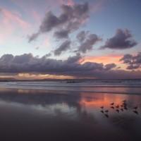 Sunset at Byron Bay Beach