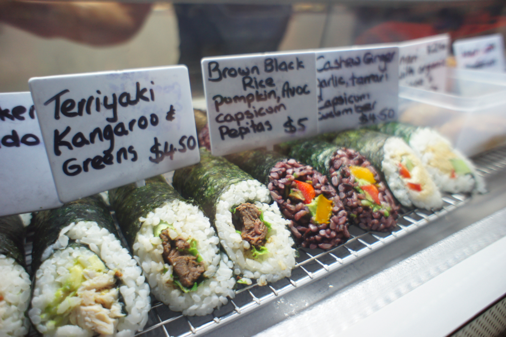 Aussie Sushi at Mindil Night Markets