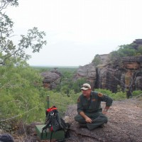 Ranger guided walk at Nourlangie rock, Kakadu National Park