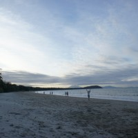 Beach sunset, Port Douglas