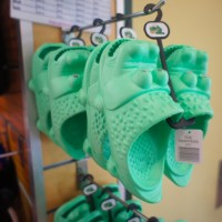 Crocs! at Kuranda souvenir shop