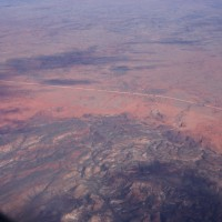 The red centre from above