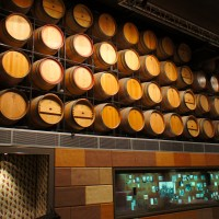 Wine casks at the National Wine Centre, Adelaide