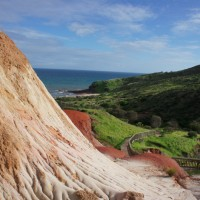 Sugar Loaf rock formation in Hallett Cove Conservation Park, Adelaide