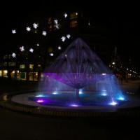 A fountain in the CBD