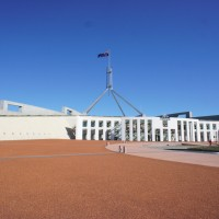 New Australian Parliament building