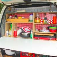 Vercy the versatile van - dining quarters