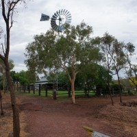 The Durack homestead at Lake Argyle