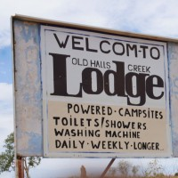 """Welcom"" to Old Halls Creek"