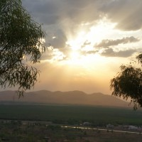 Sunset at Kelly's Knob lookout, Kununurra