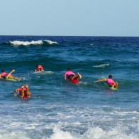 The Lifesavers Surfing in Noosa