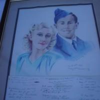 Prince Leonard and the late Princess Shirley, Hutt River Province, Western Australia