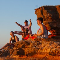 Sunset in Broome, Gantheaume Point