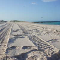 Beach driving at Cape Leveque