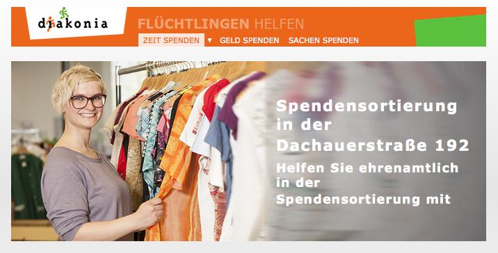Diakonia-spenden-sortieren-münchen-dachauerstr