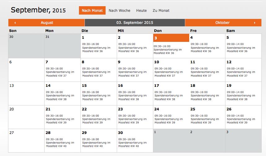 Diakonia-spenden-sortieren-münchen-kalender
